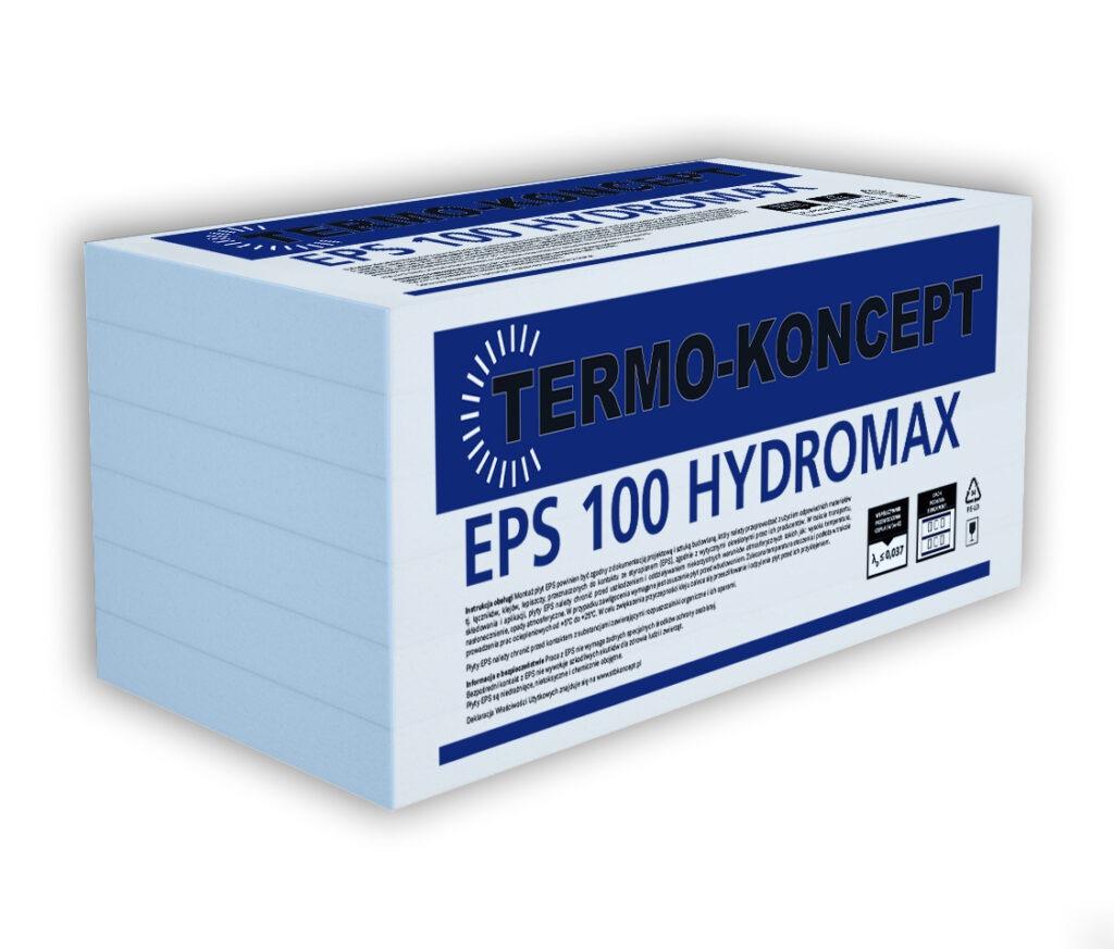 Płyty styropianowe EPS 100 HYDROMAX FUNDAMENT TERMO-KONCEPT STB KONCEPT