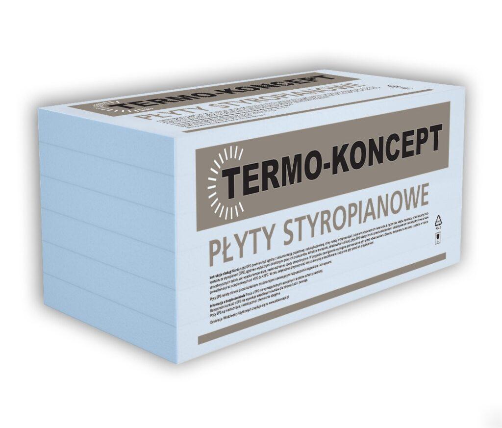 Płyty styropianowe EPS HYDRO-STYROMAX DACH/PODŁOGA/FUNDAMENT TERMO-KONCEPT-STB-KONCEPT