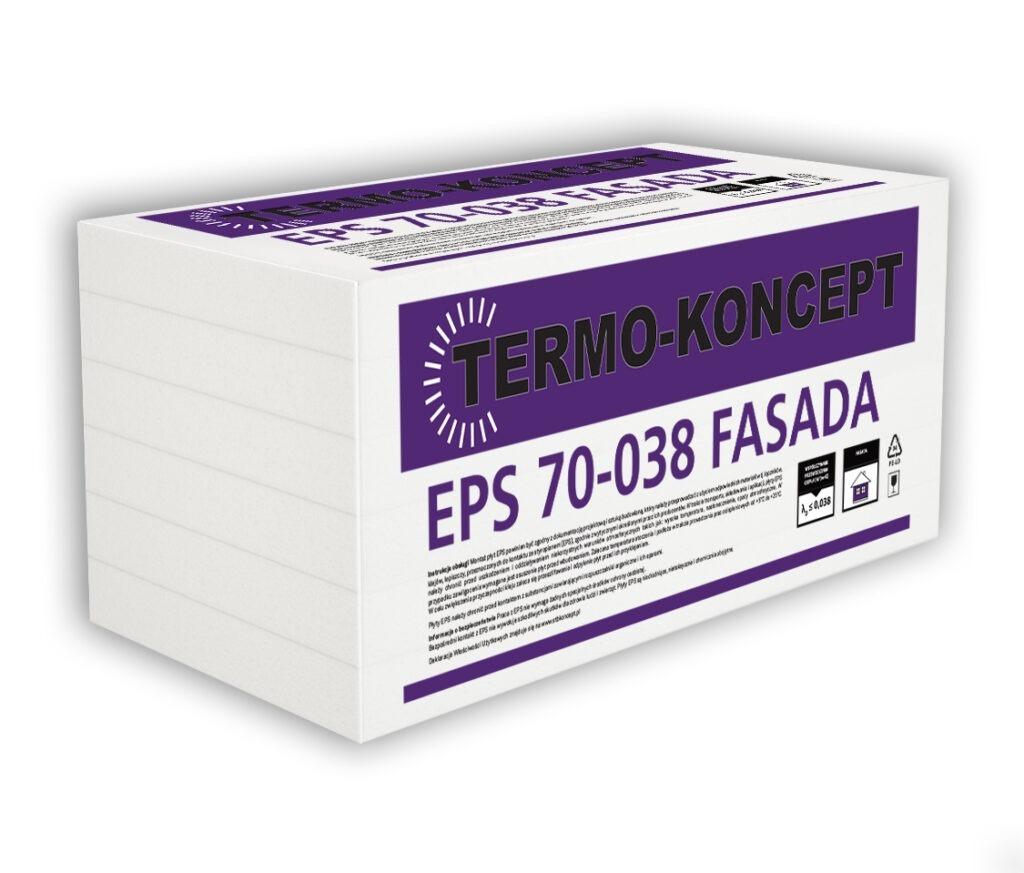 Płyty styropianowe EPS S 70 038 FASADA TERMO-KONCEPT STB KONCEPT