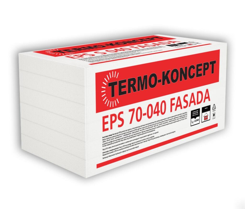Płyty styropianowe EPS fasadowe S 70 040 Fasada TERMO-KONCEPT STB KONCEPT